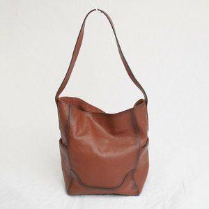 NEW Frye Leather Hobo Shoulder Handbag Purse